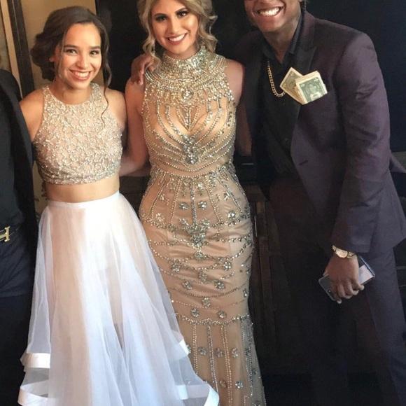 Prom Dress Gold